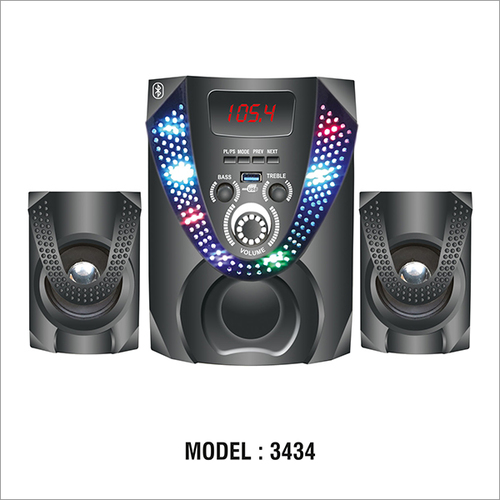 Model 3434 Multimedia Bluetooth Speaker