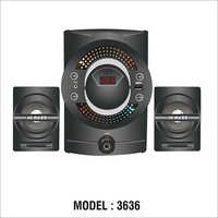 Model 3636 Hi Bass Multimedia Speaker