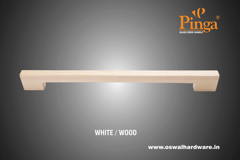 Mondin Wood Glass Door Handle