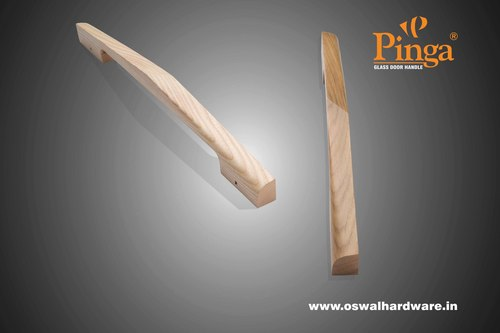 Stylus Wood Glass Door Handle