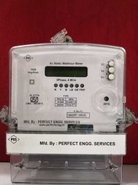 Three Phase Single Source Prepaid Meter