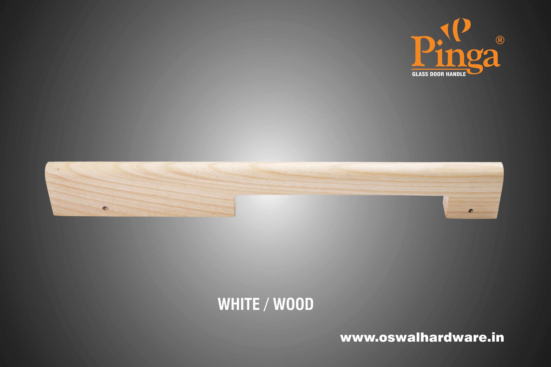 Kodiak Wood Glass Door Handle