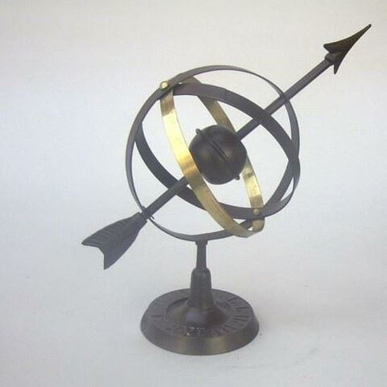 Iron Globe Antique Finish