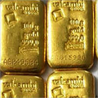 Pure Valcambi Gold Biscuit