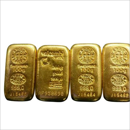 24 Carat Gold Biscuit