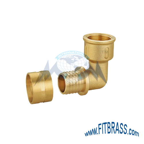 BRASS PEX ELBOW FITTINGS