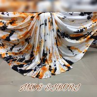 Fancy Japan Satin Saree