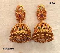 Traditional Stylish Jhumka Earrings
