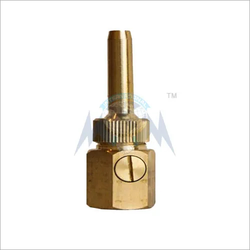 BRASS ADJUSTABLE FOUNTAIN NOZZLE