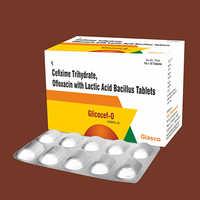 Cefixime 200mg + Ofloxacin 200mg Tablet