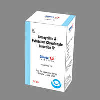 Amoxycillin 1gm Plus Potassium Clavulanate 200mg Injection