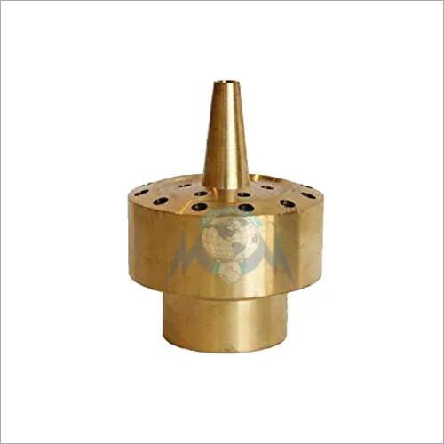 BRASS BLOSSOM WATER FOUNTAIN NOZZLE