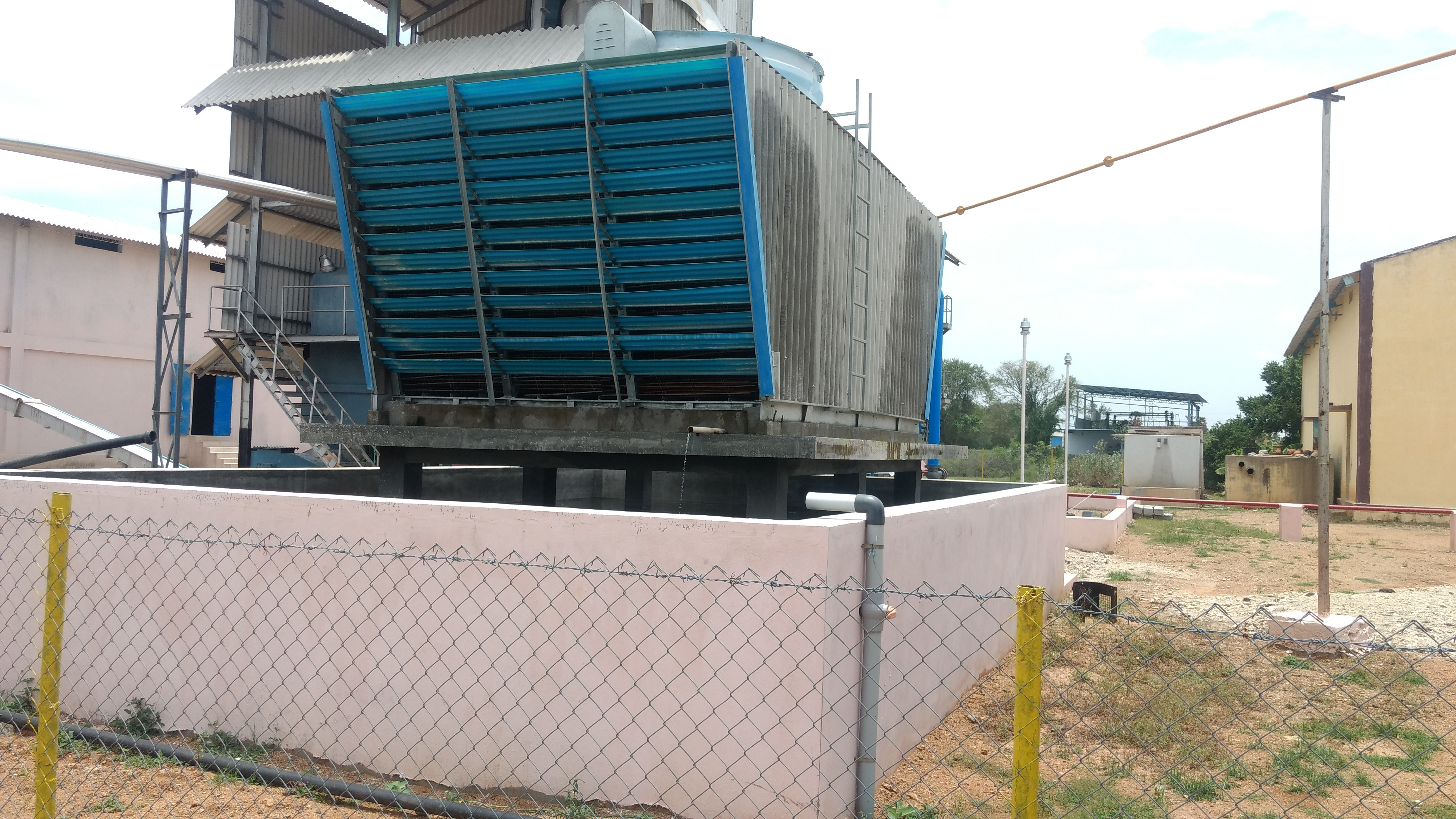 Timber Cooling Tower Splash Bar Fills