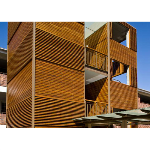 Wooden Exterior Cladding