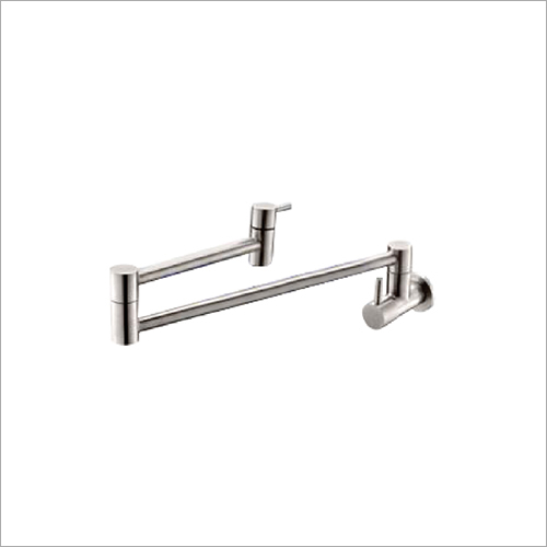 Stainless Steel Wall Mounted Pot Filler Faucet