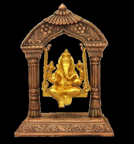 Lord Ganesha Idol with Swing