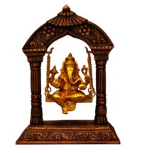 Lord Ganesha Idol with Swing