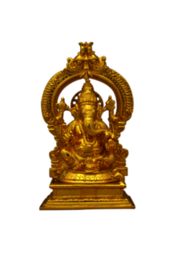 Lord Ganesha Idol with Arch
