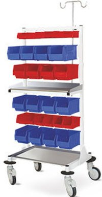 MULTIPLE TROLLEY BINS