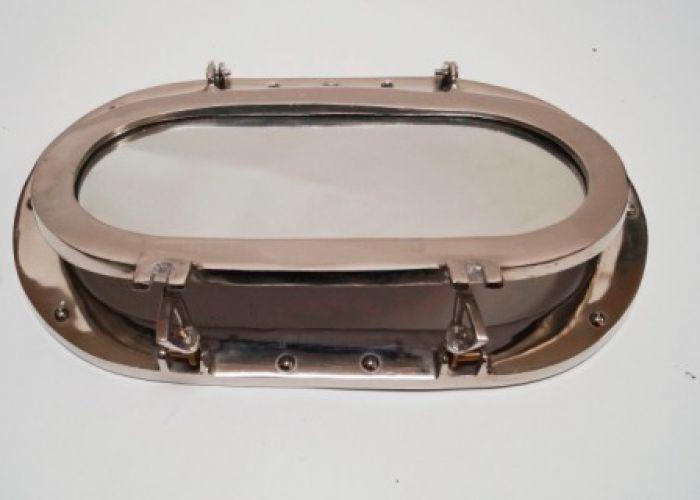Oval Porthole Glass 19 Inch