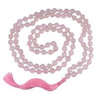 Jaipur Rajasthan India Rose Quartz Gemstone Necklace Handmade Jewelry Manufacturer