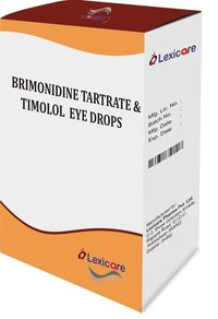 Brimonidine Tartrate & Timolol Eye Drop