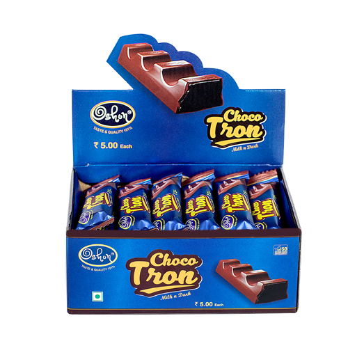 Choco Tron (Milk N Dark)- Bar Chocolate