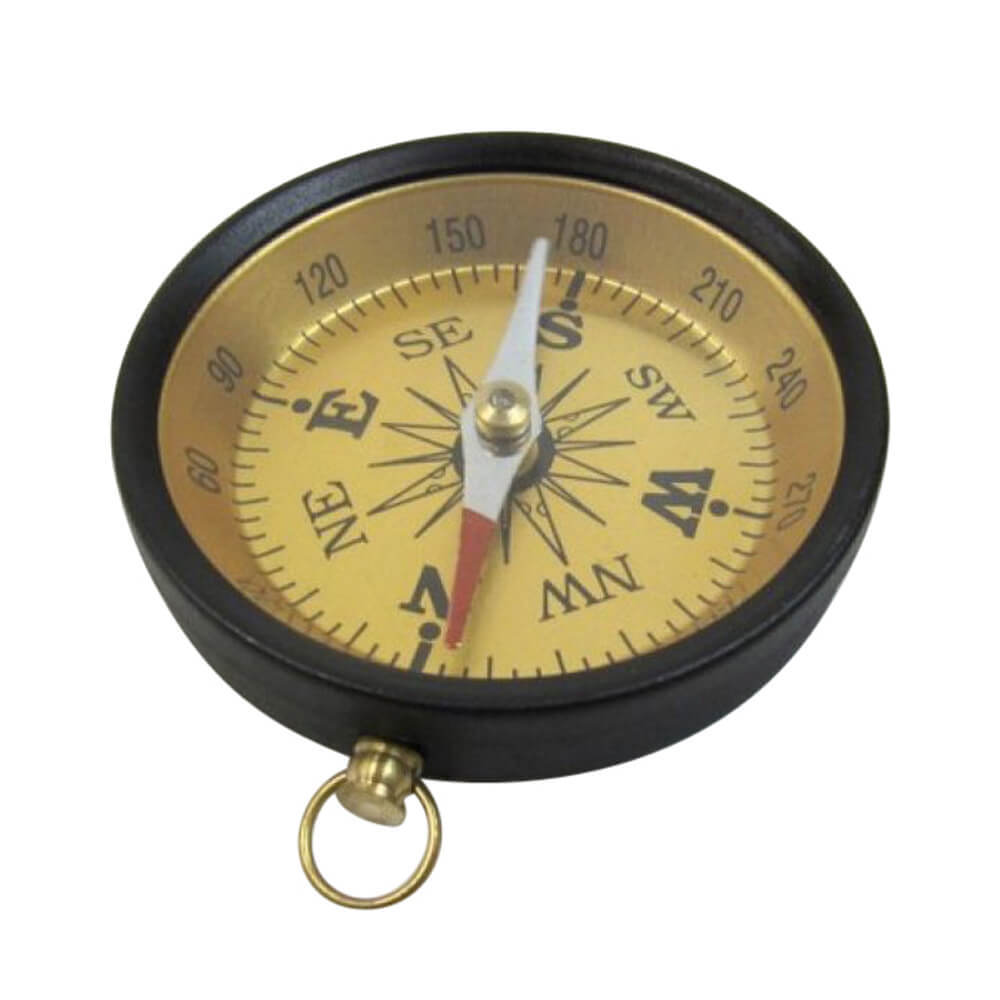 Aluminum Flat Compass
