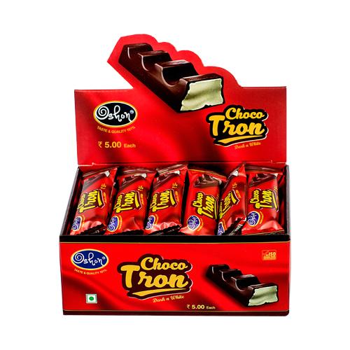Choco Tron (Dark N White) - Bar Chocolate