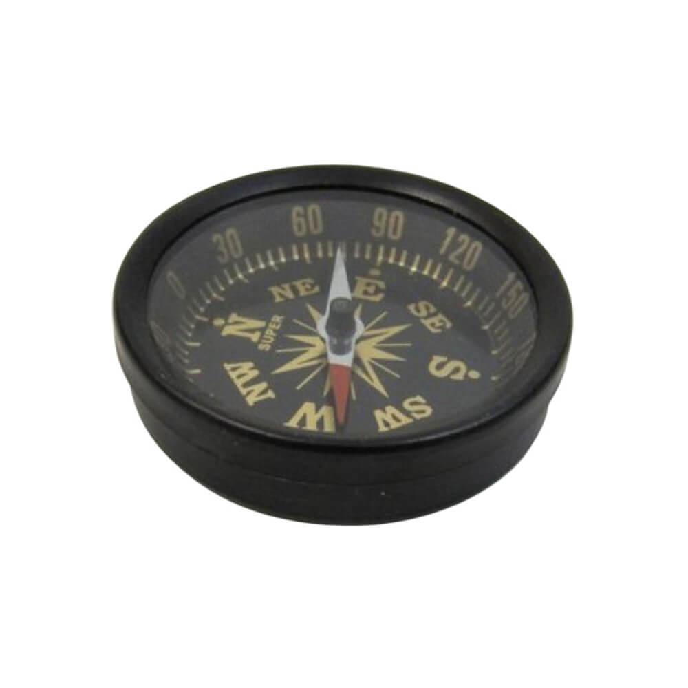 Antique Aluminum Compass