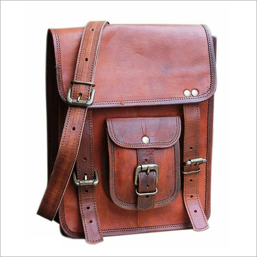 Leather Vintage Collage Bag