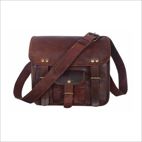 Vintage Leather Sling Bag