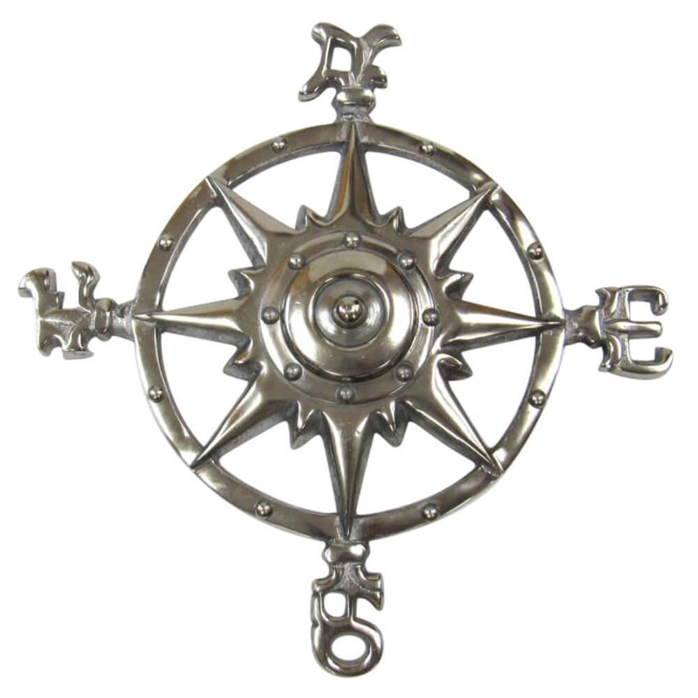 Aluminum Rose Compass I