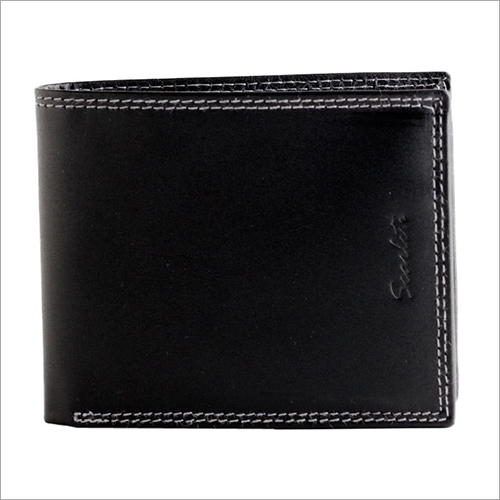 Mens Plain Leather Wallet