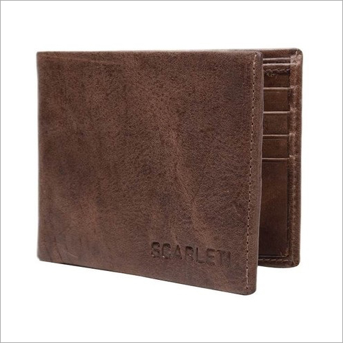 Mens Leather Billfold Wallet