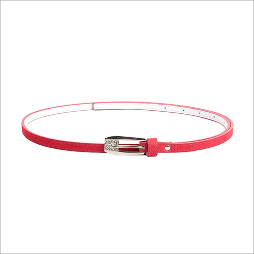 Ladies Red Belt