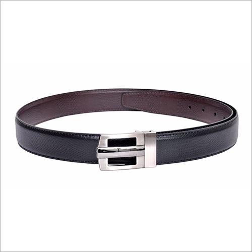 Men Black PU Belt