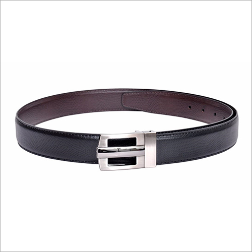Men Black PU Belt