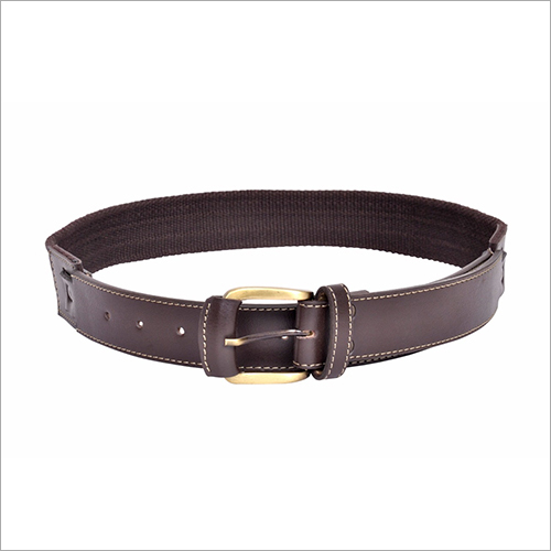 Men Dark Brown Belt