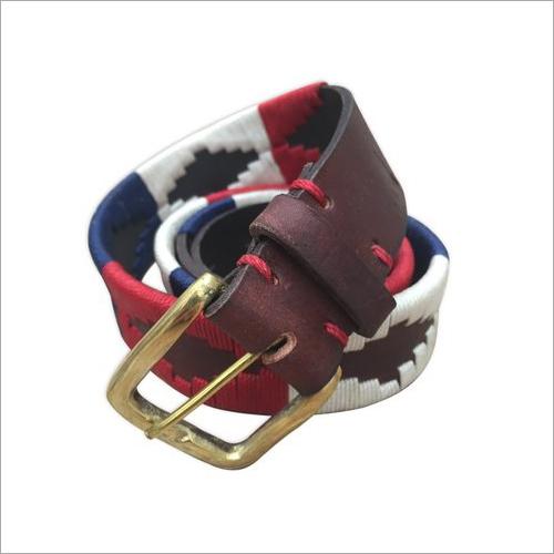 Cotton Leather Belt