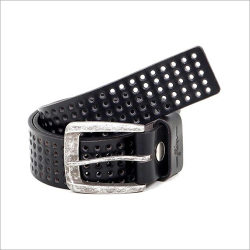 Mens Hard Core Casual Leather Belt