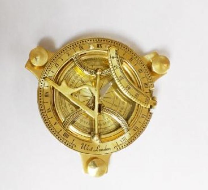 Sundial Compass 4 Inch