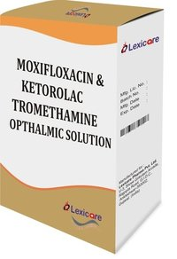 Moxifloxacin Opthalmic Solution