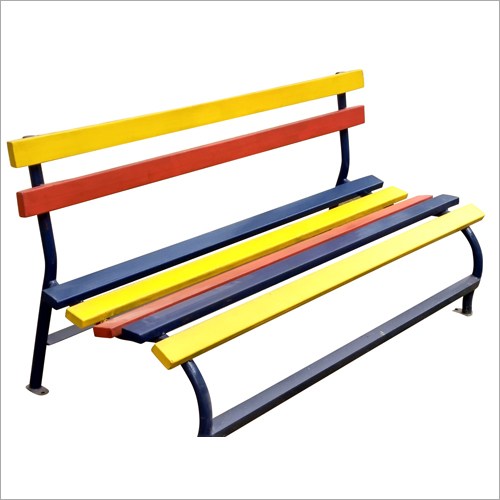 Outdoor Multicolor Garden Bench