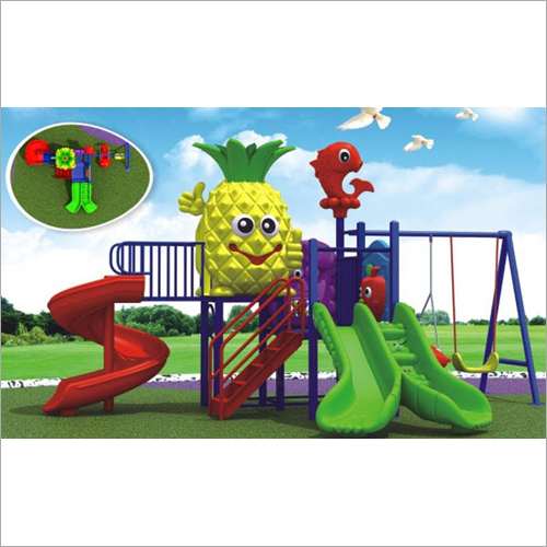 Kids Plastic Playground Slide