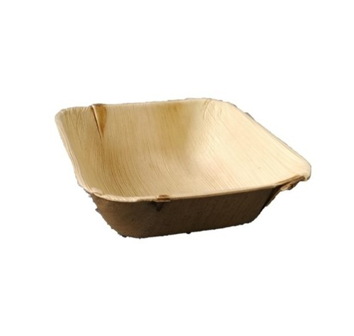 Areca Leaf Quadrato Bowl / Square / 5.5 inch