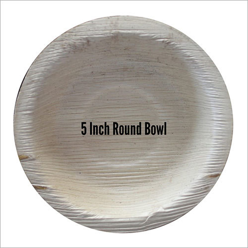 Areca Leaf Bowl / Round / 5 inch
