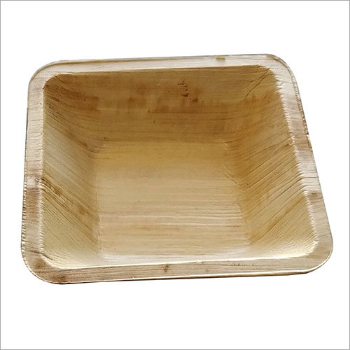 Areca Leaf Bowl / Square / 4.5 inch