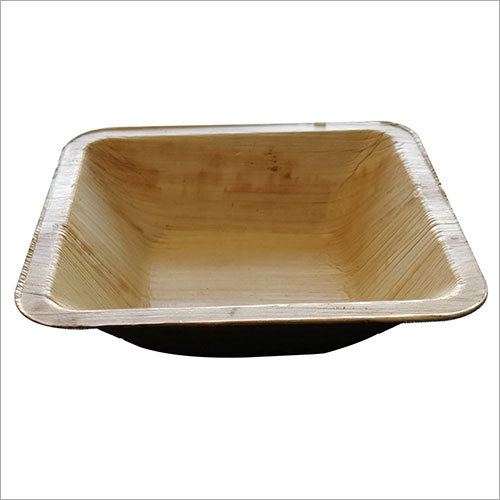 Areca Leaf Bowl / Square / 5 inch