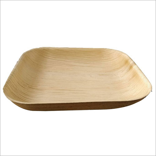 Areca Leaf Plate / Square / 8 inch / Deep
